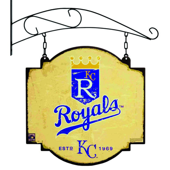 MLB, Kansas City Royals, Metal Tavern Signs, Sign, Officially licensed sign, Kansas City Royals gift