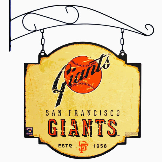 MLB, San Francisco Giants, Metal Tavern Signs, Sign, Officially licensed sign, San Francisco Giants gift