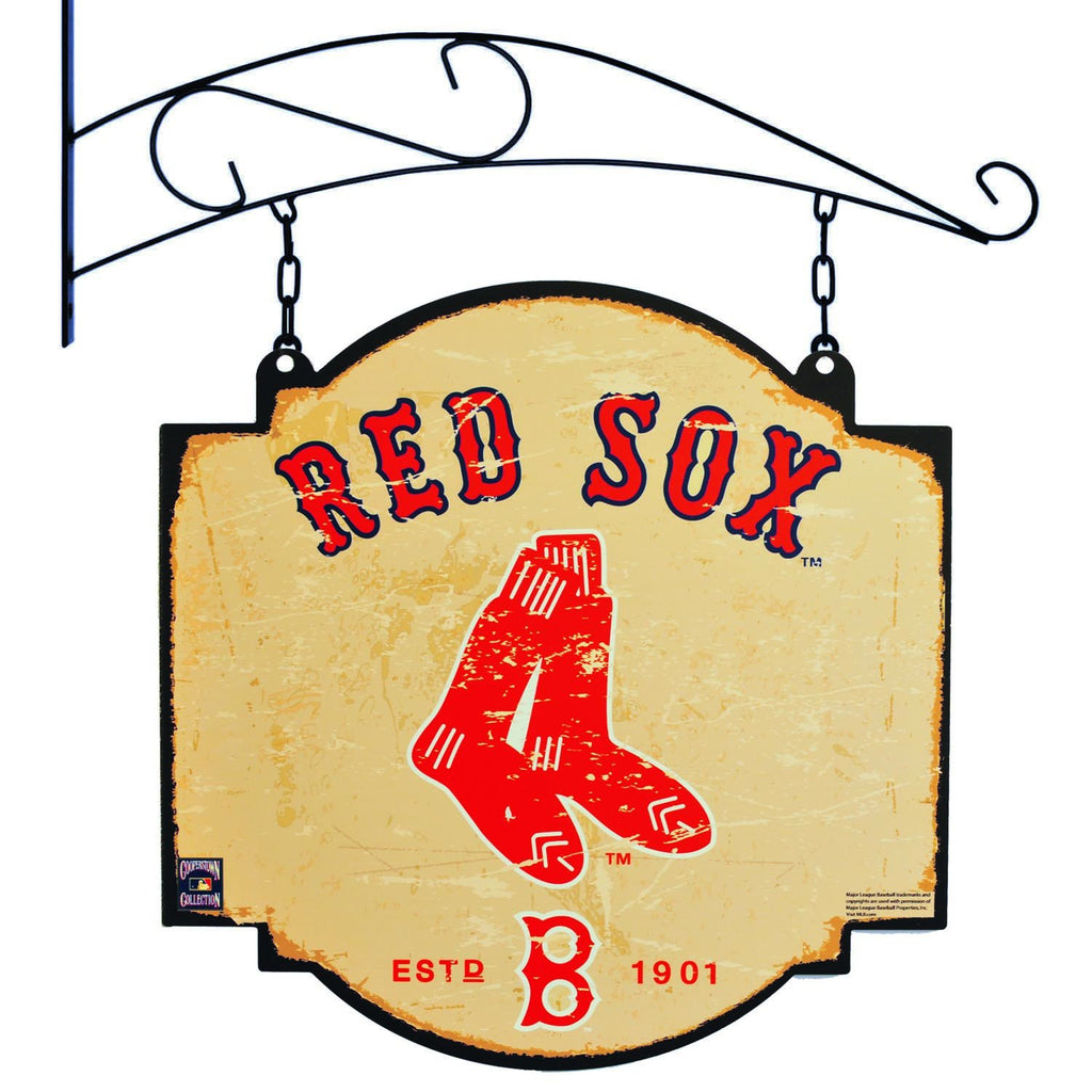 MLB, Boston Red Sox, Metal Tavern Signs, Sign, Officially licensed sign, Boston Red Sox gift