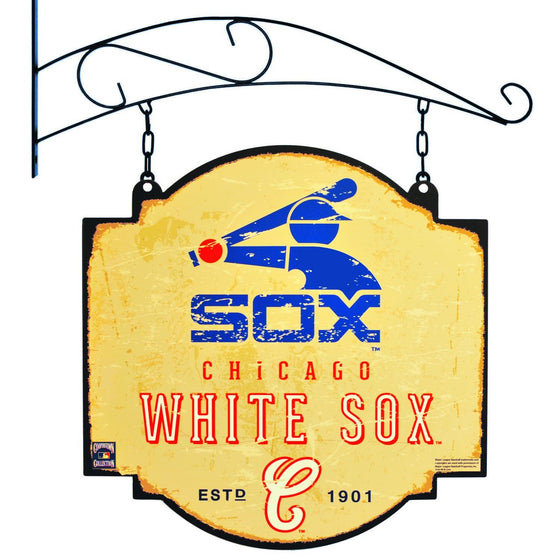 MLB, Chicago White Sox, Metal Tavern Signs, Sign, Officially licensed sign, Chicago White Sox gift