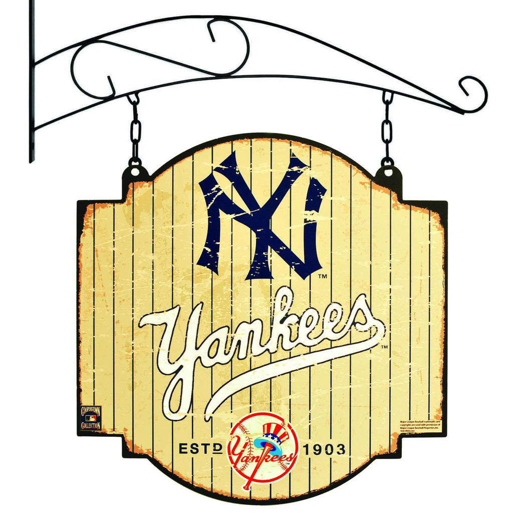 MLB, New York Yankees, Metal Tavern Signs, Sign, Officially licensed sign, New York Yankees gift
