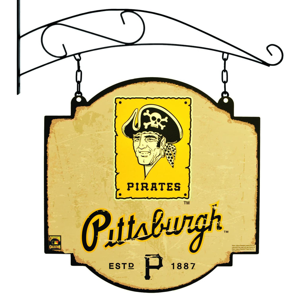 MLB, Pittsburgh Pirates, Metal Tavern Signs, Sign, Officially licensed sign, Pittsburgh Pirates gift