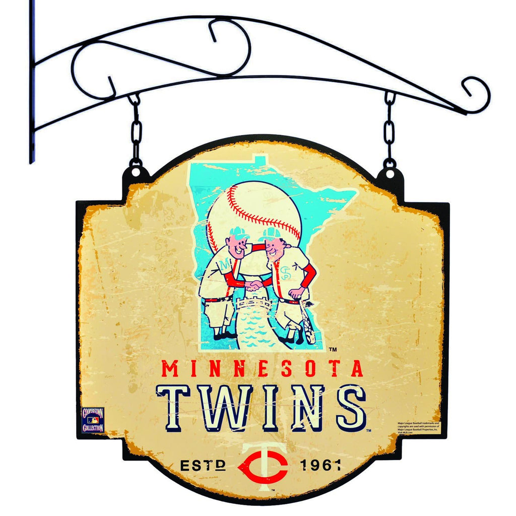 MLB, Minnesota Twins, Metal Tavern Signs, Sign, Officially licensed sign, Minnesota Twins gift