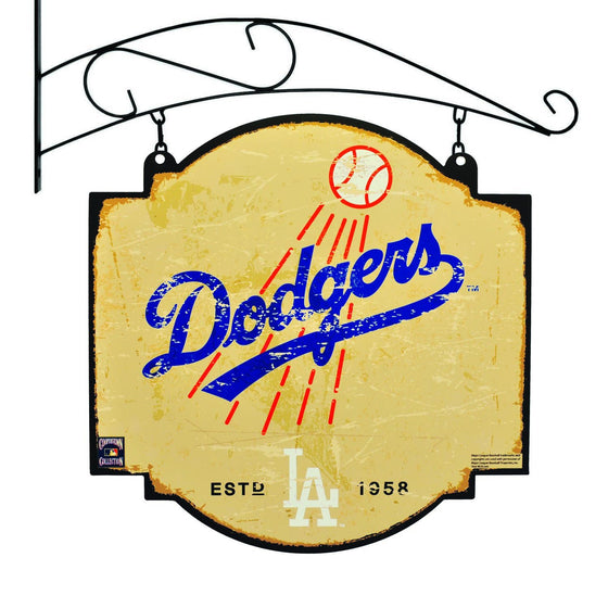 MLB, Los Angeles Dodgers, Metal Tavern Signs, Sign, Officially licensed sign, Los Angeles Dodgers gift