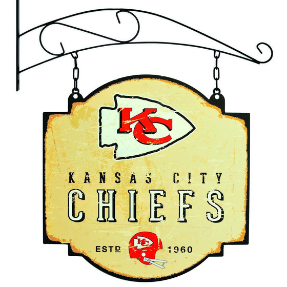 NFL, Kansas City Chiefs, Metal Tavern Signs, Sign, Officially licensed sign, Kansas City Chiefs gift