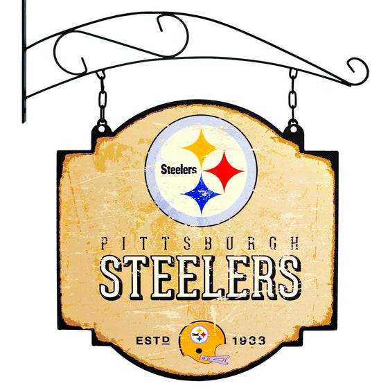 NFL, Pittsburgh Steelers, Metal Tavern Signs, Sign, Officially licensed sign, Pittsburgh Steelers gift