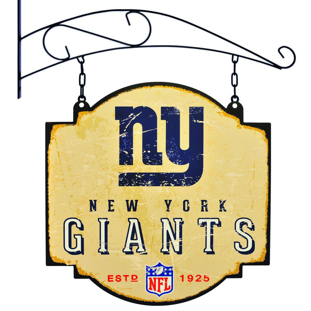 NFL, New York Giants, Metal Tavern Signs, Sign, Officially licensed sign, New York Giants gift