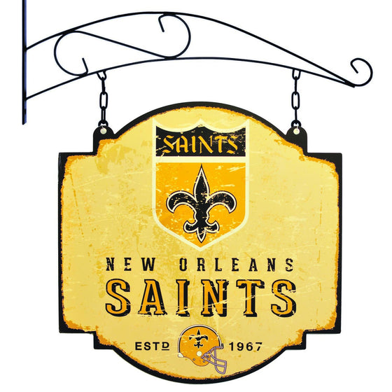 NFL, New Orleans Saints, Metal Tavern Signs, Sign, Officially licensed sign, New Orleans Saints gift