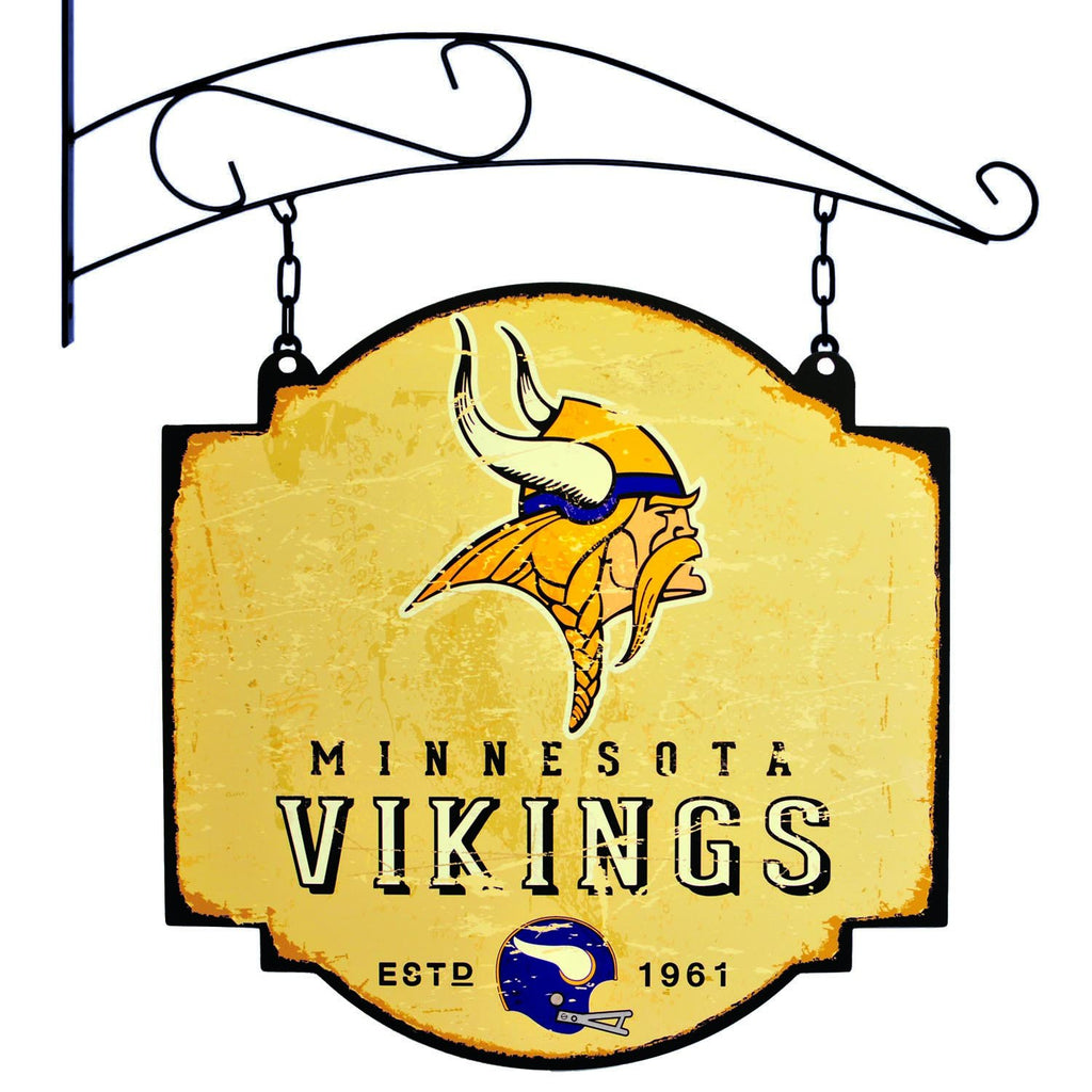 NFL, Minnesota Vikings, Metal Tavern Signs, Sign, Officially licensed sign, Minnesota Vikings gift