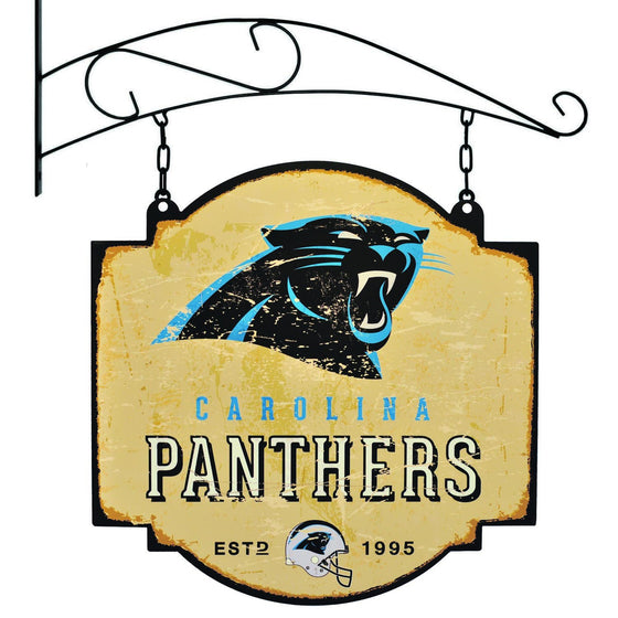 NFL, Carolina Panthers, Metal Tavern Signs, Sign, Officially licensed sign, Carolina Panthers gift