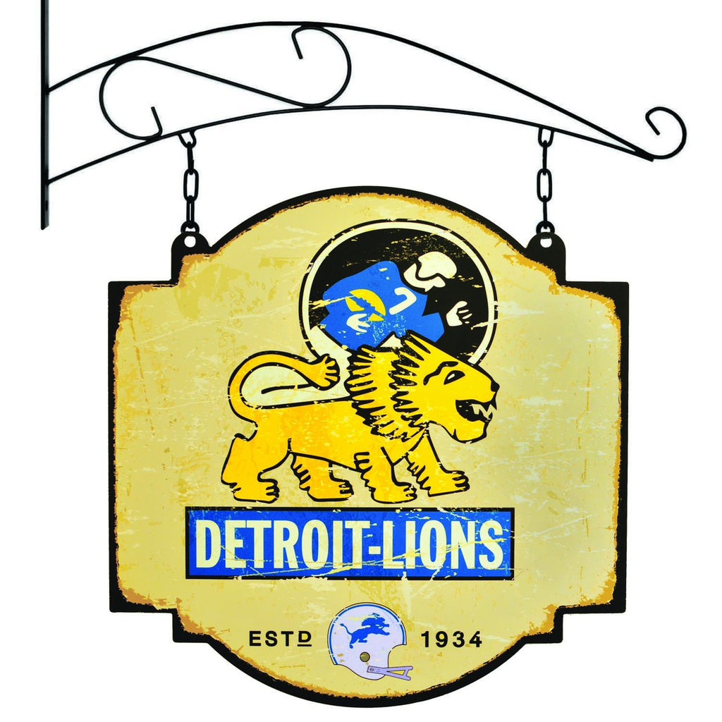 NFL, Detroit Lions, Metal Tavern Signs, Sign, Officially licensed sign, Detroit Lions gift