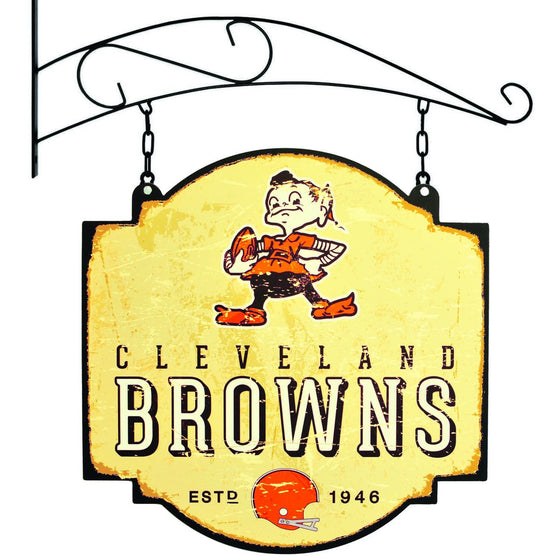 NFL, Cleveland Browns, Metal Tavern Signs, Sign, Officially licensed sign, Cleveland Browns gift