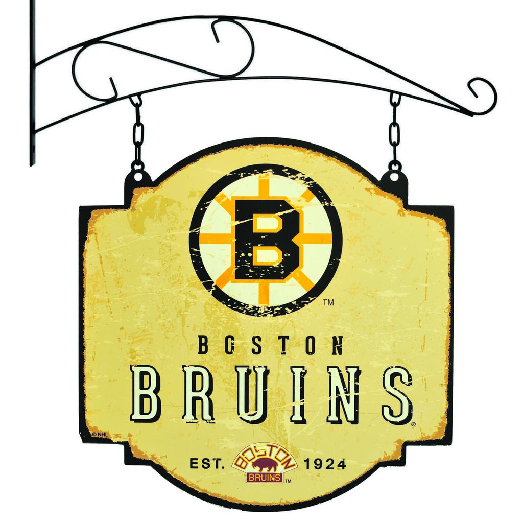 NHL, Boston Bruins, Metal Tavern Signs, Sign, Officially licensed sign, Boston Bruins gift