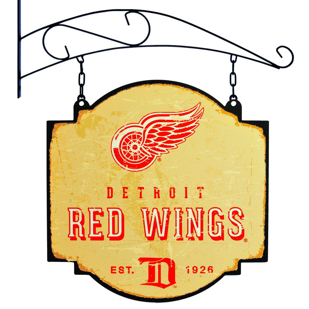 NHL, Detroit Red Wings, Metal Tavern Signs, Sign, Officially licensed sign, Detroit Red Wings gift