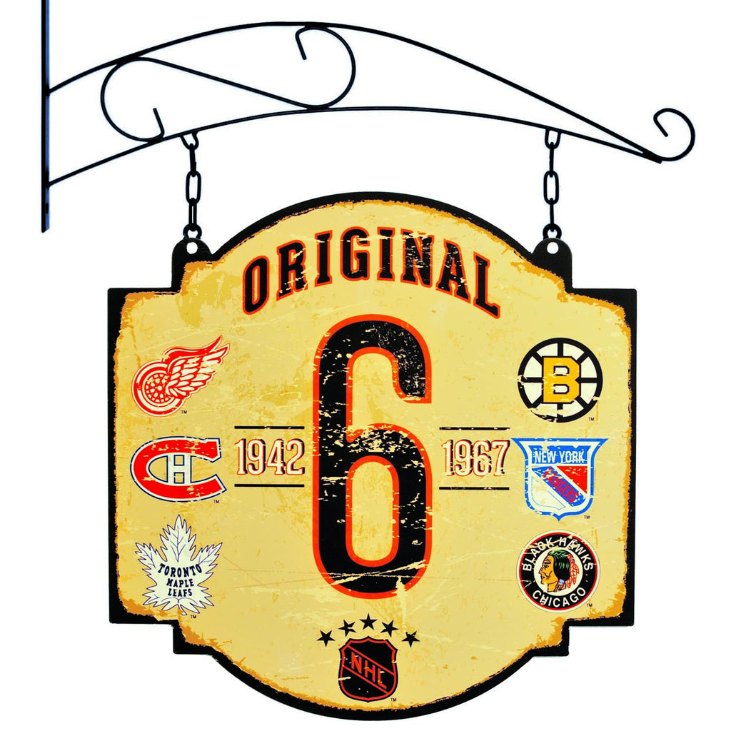 NHL, Original Six, Metal Tavern Signs, Sign, Officially licensed sign, Original Six gift