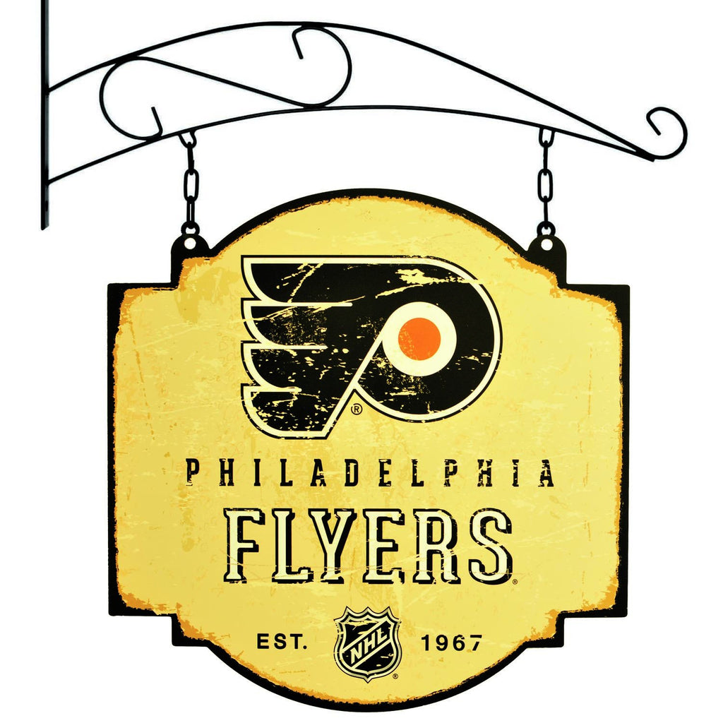 NHL, Philadelphia Flyers, Metal Tavern Signs, Sign, Officially licensed sign, Philadelphia Flyers gift