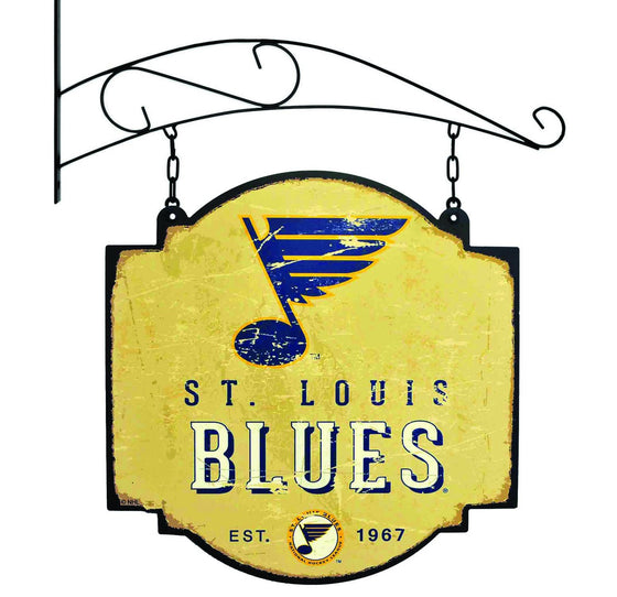 NHL, St. Louis Blues, Metal Tavern Signs, Sign, Officially licensed sign, St. Louis Blues gift