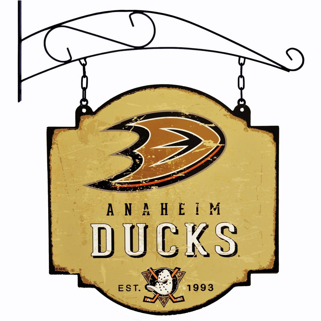 NHL, Anaheim Ducks, Metal Tavern Signs, Sign, Officially licensed sign, Anaheim Ducks gift