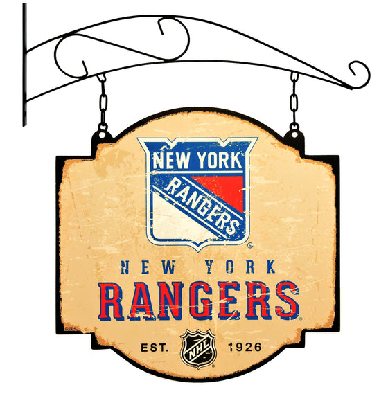 NHL, New York Rangers, Metal Tavern Signs, Sign, Officially licensed sign, New York Rangers gift