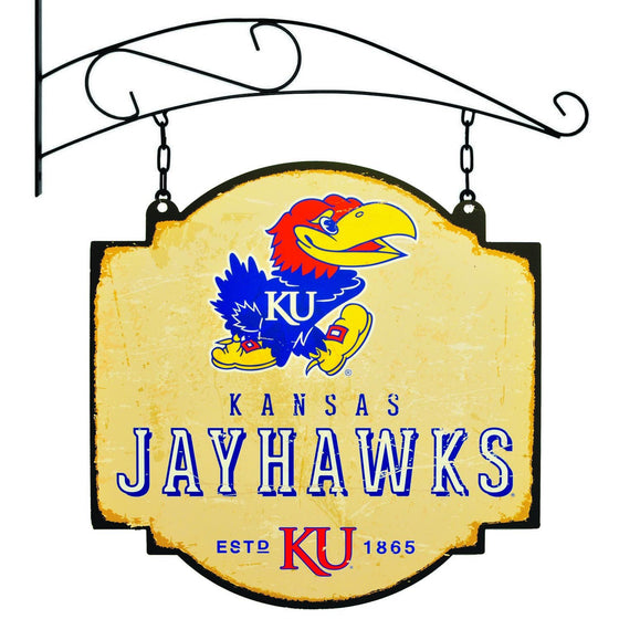 NCAA, Kansas, Metal Tavern Signs, Sign, Officially licensed sign, Kansas gift