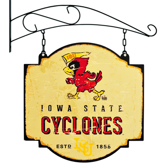 NCAA, Iowa State, Metal Tavern Signs, Sign, Officially licensed sign, Iowa State gift