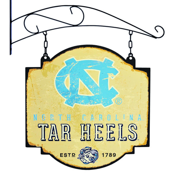 NCAA, North Carolina, Metal Tavern Signs, Sign, Officially licensed sign, North Carolina gift