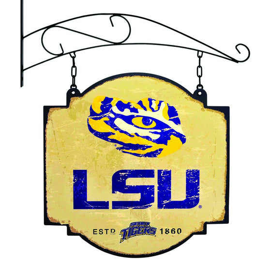 NCAA, Louisiana State / LSU, Metal Tavern Signs, Sign, Officially licensed sign, Louisiana State / LSU gift