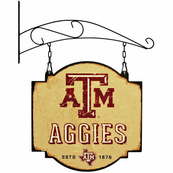 NCAA, Texas A&M, Metal Tavern Signs, Sign, Officially licensed sign, Texas A&M gift