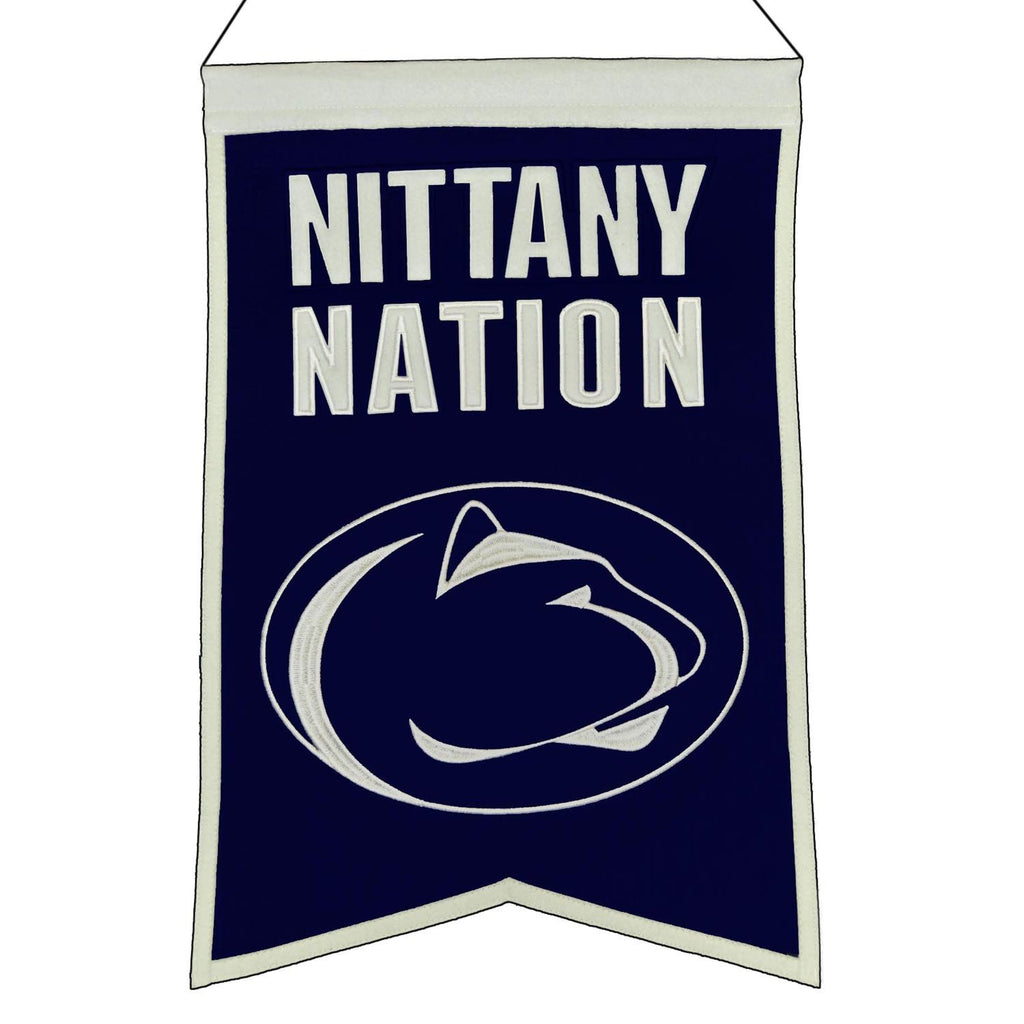 NCAA, Penn State, Banners, Embroidered Banner, Officially licensed banner, Penn State gift