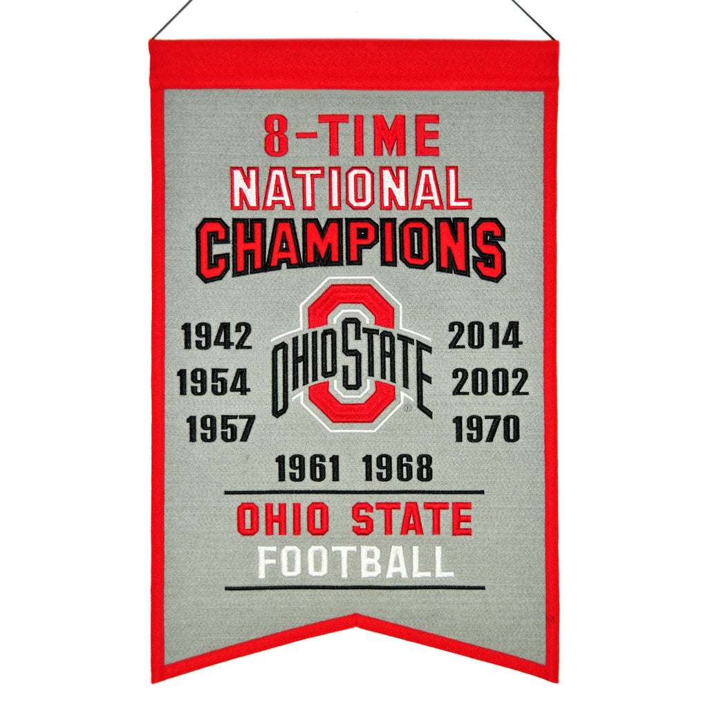 NCAA, Ohio State, Banners, Embroidered Banner, Officially licensed banner, Ohio State gift