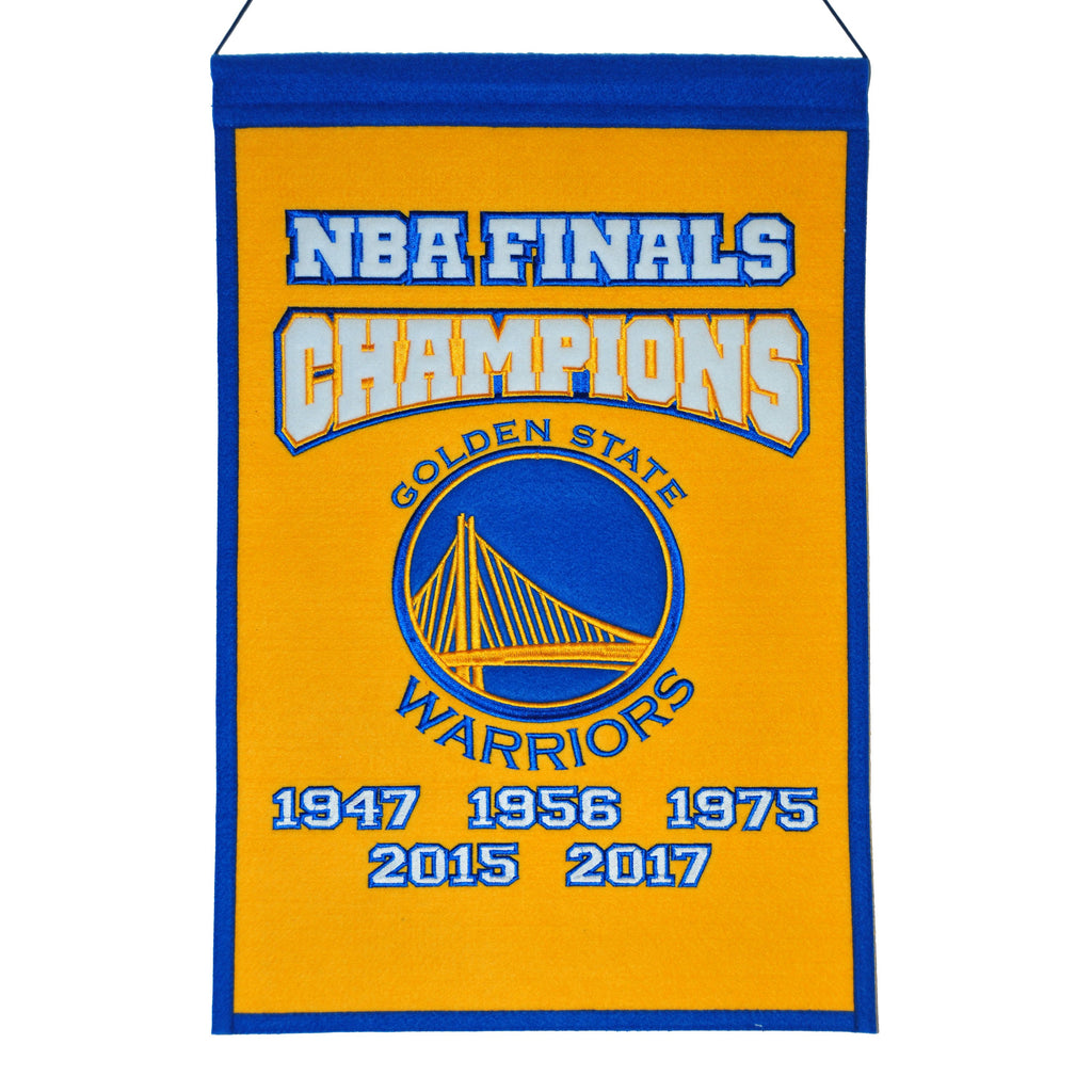 Golden State Warriors Champions Banner