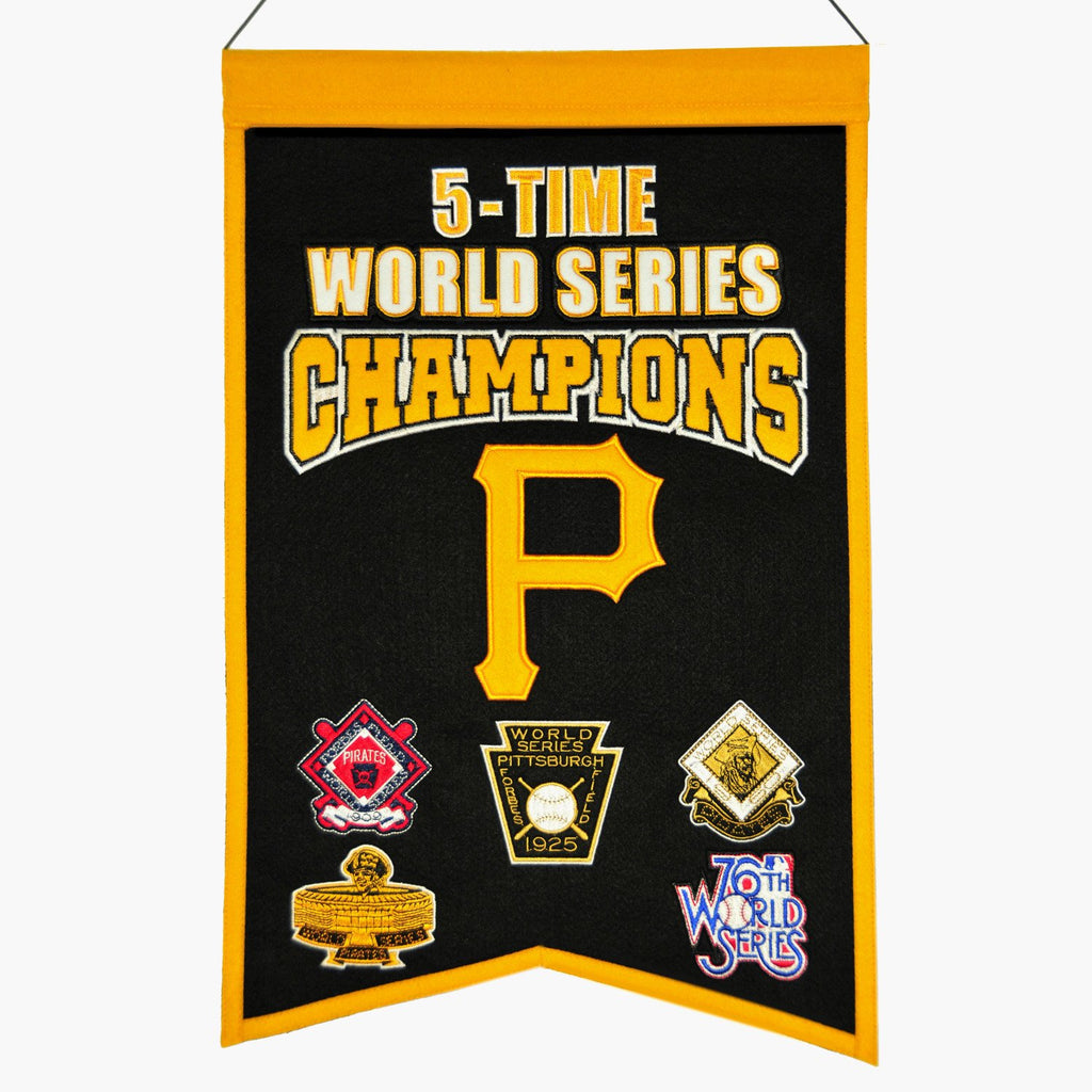 MLB, Pittsburgh Pirates, Banners, Embroidered Banner, Officially licensed banner, Pittsburgh Pirates gift