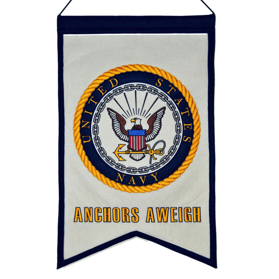 America - Military, US Navy, Banners, Embroidered Banner, Officially licensed banner, US Navy gift