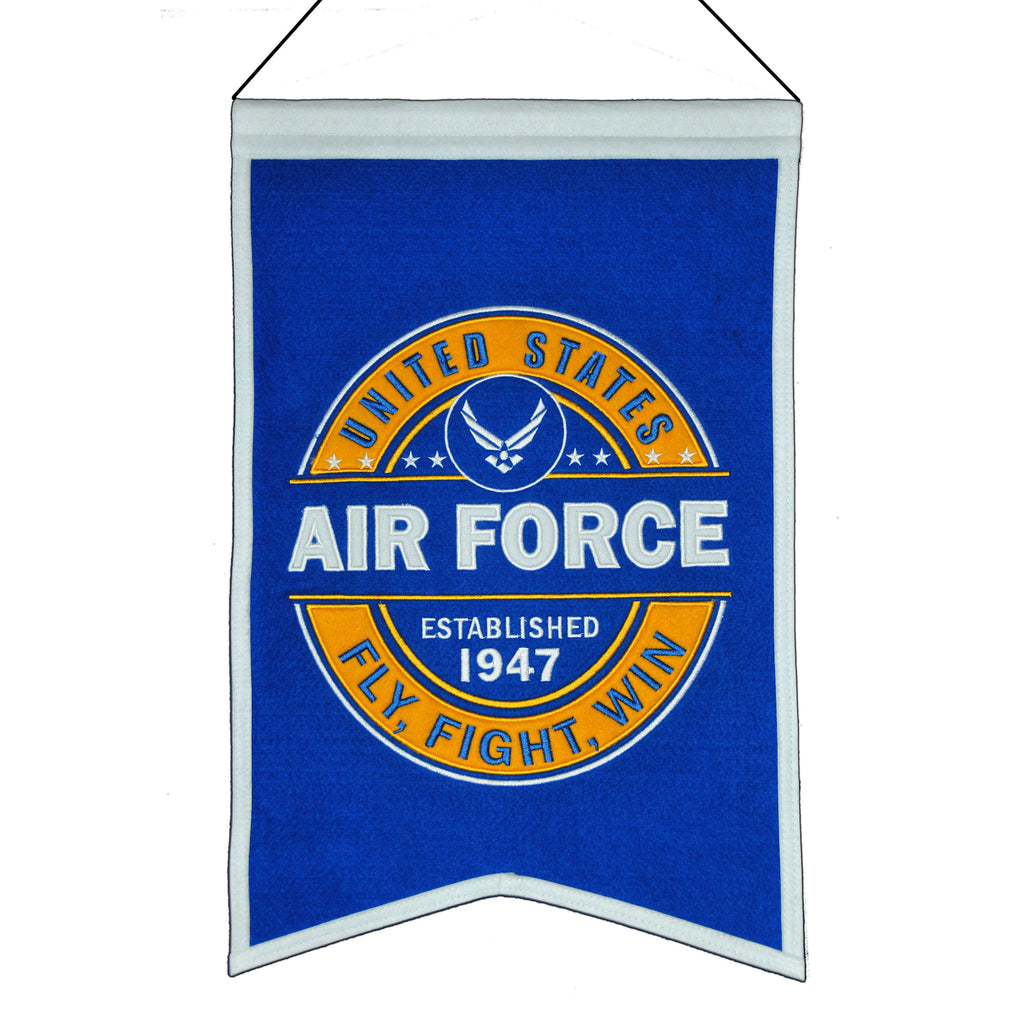 America - Military, US Air Force, Banners, Embroidered Banner, Officially licensed banner, US Air Force gift