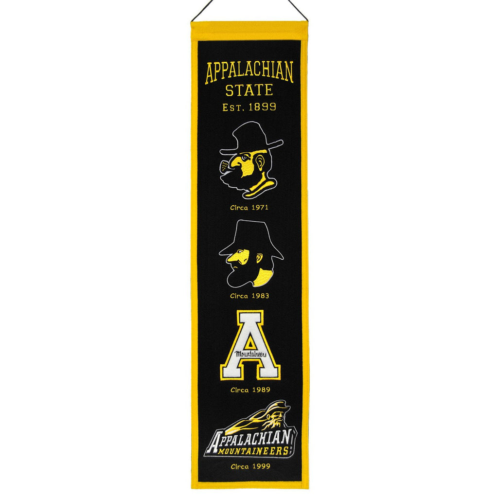 NCAA, Appalachian State, Banners - Narrow, Embroidered Banner, Officially licensed banner, Appalachian State gift