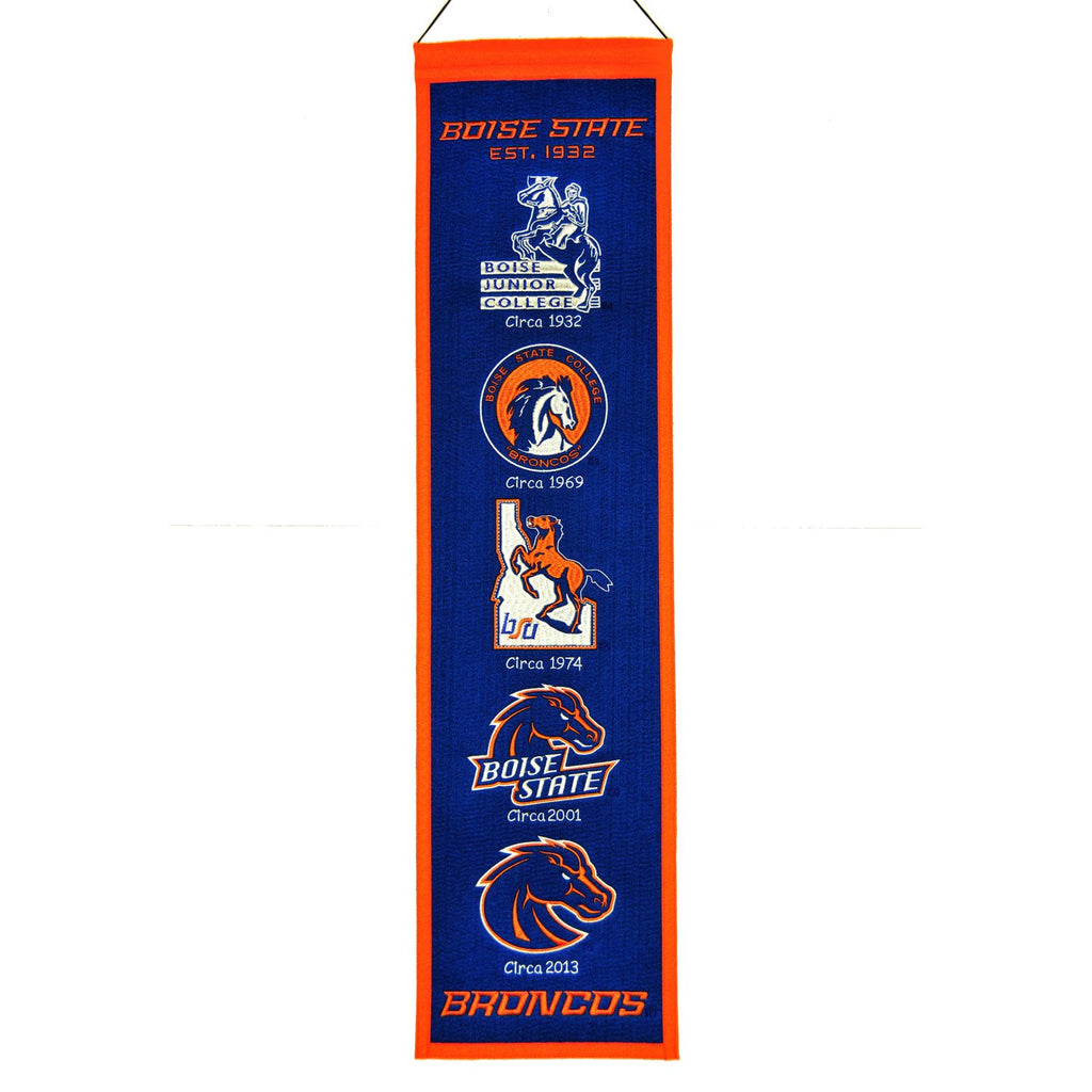 NCAA, Boise State, Banners - Narrow, Embroidered Banner, Officially licensed banner, Boise State gift