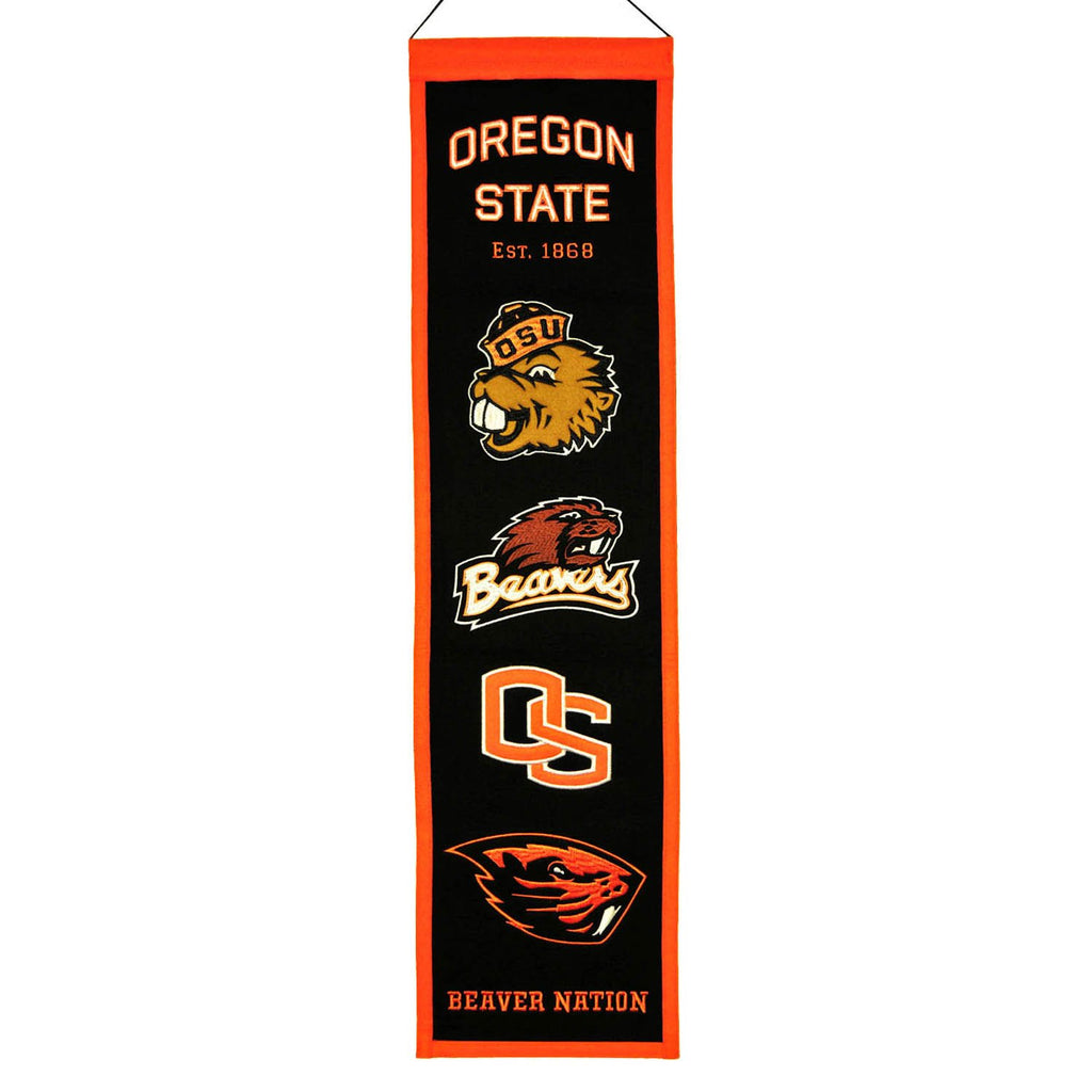 NCAA, Oregon State, Banners - Narrow, Embroidered Banner, Officially licensed banner, Oregon State gift