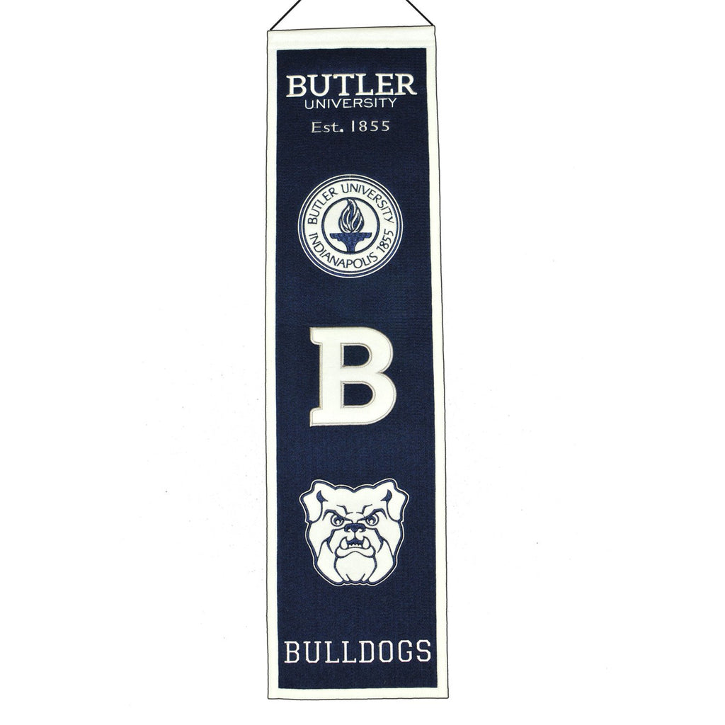 NCAA, Butler, Banners - Narrow, Embroidered Banner, Officially licensed banner, Butler gift