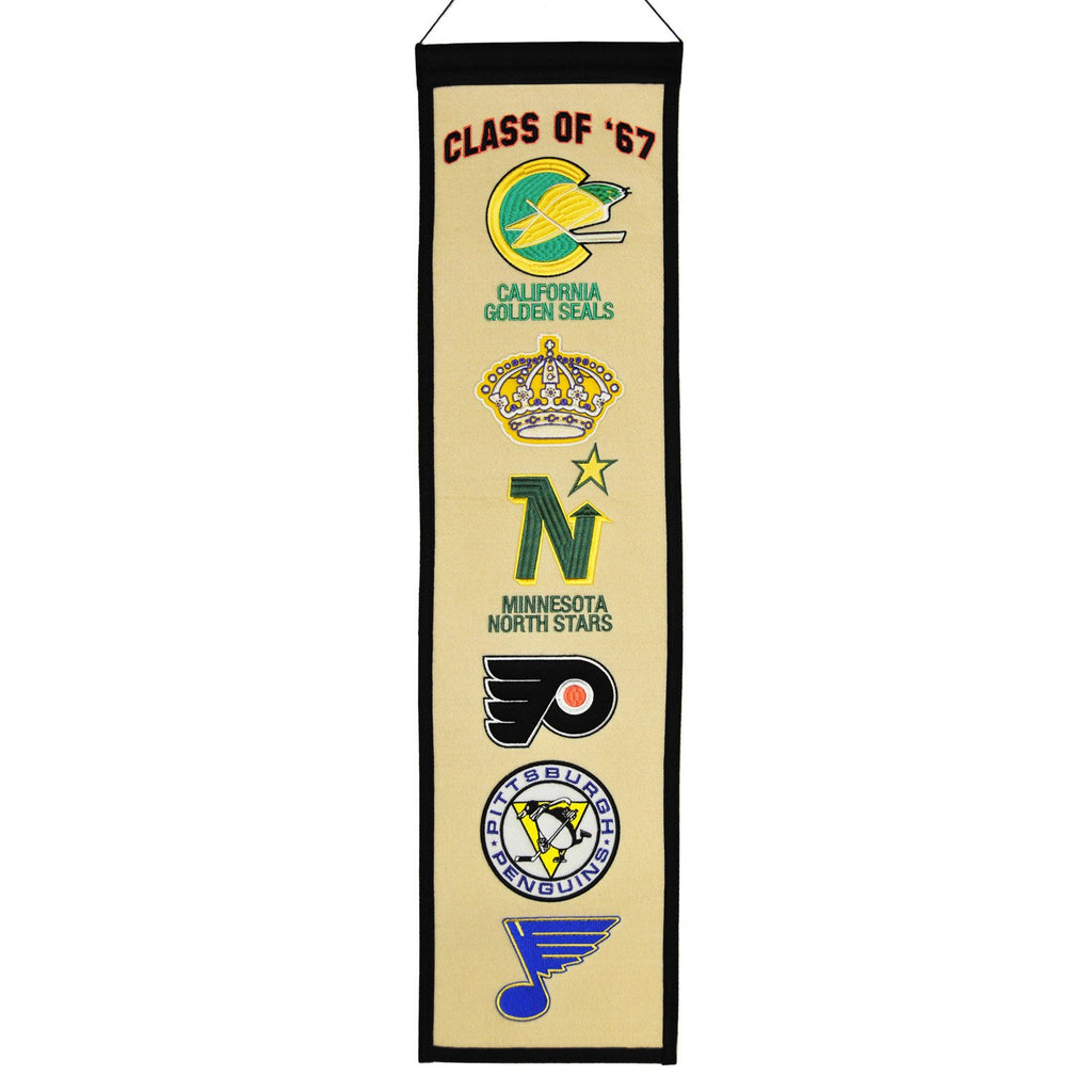 NHL, Next Six, Banners - Narrow, Embroidered Banner, Officially licensed banner, Next Six gift