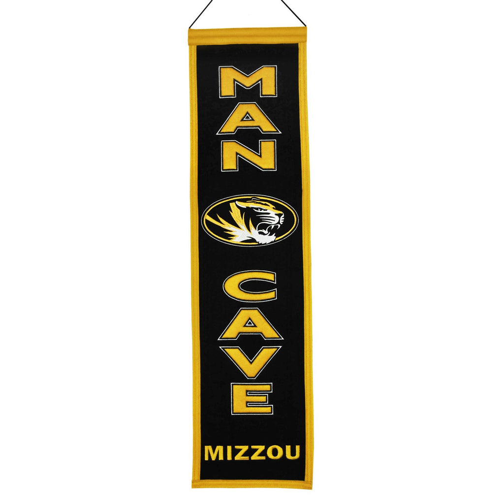 NCAA, Missouri, Banners - Narrow, Embroidered Banner, Officially licensed banner, Missouri gift