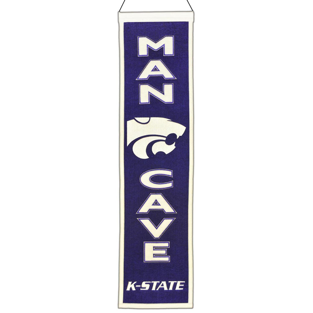 NCAA, Kansas State, Banners - Narrow, Embroidered Banner, Officially licensed banner, Kansas State gift