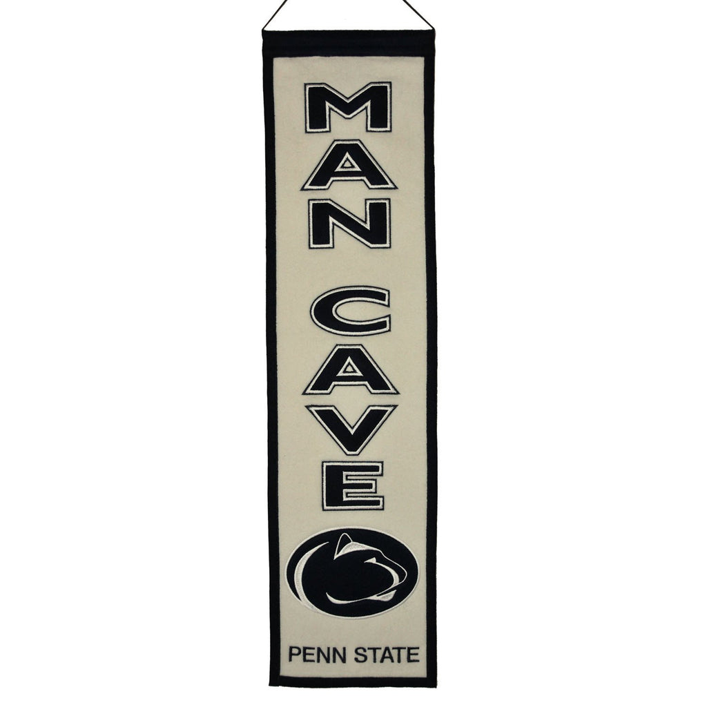 NCAA, Penn State, Banners - Narrow, Embroidered Banner, Officially licensed banner, Penn State gift