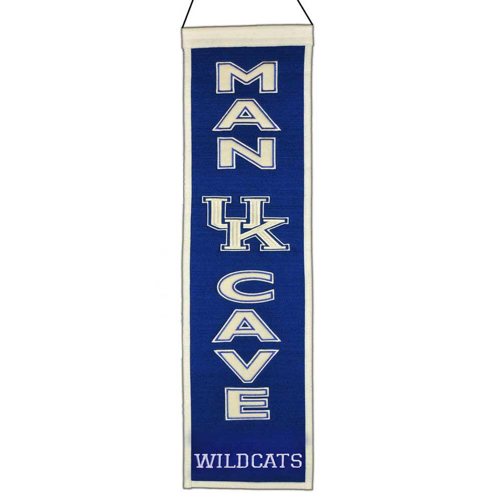 NCAA, Kentucky, Banners - Narrow, Embroidered Banner, Officially licensed banner, Kentucky gift