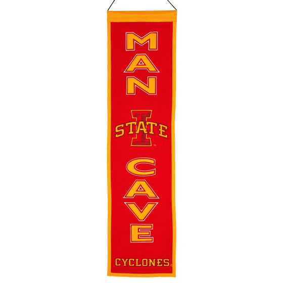NCAA, Iowa State, Banners - Narrow, Embroidered Banner, Officially licensed banner, Iowa State gift