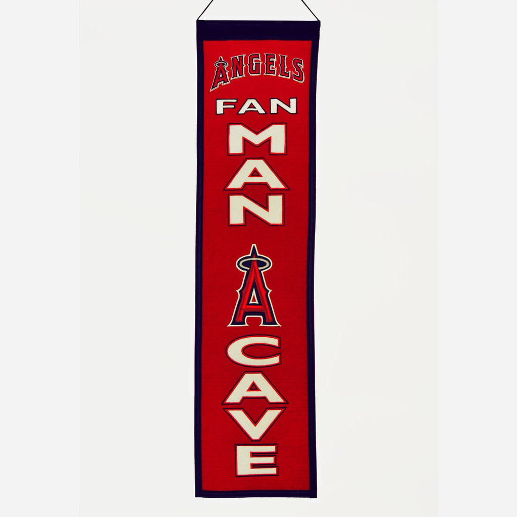 MLB, Los Angeles Angels of Anaheim, Banners - Narrow, Embroidered Banner, Officially licensed banner, Los Angeles Angels of Anaheim gift