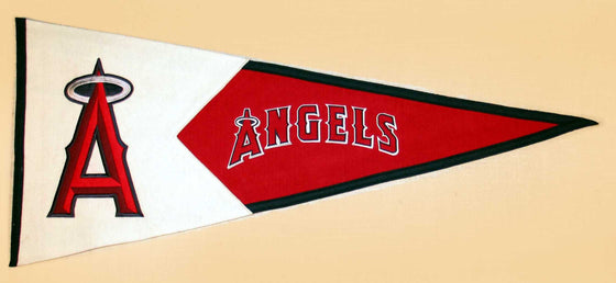 MLB, Los Angeles Angels of Anaheim, Pennants - Horizontal, Embroidered Pennant, Officially licensed pennant, Los Angeles Angels of Anaheim gift
