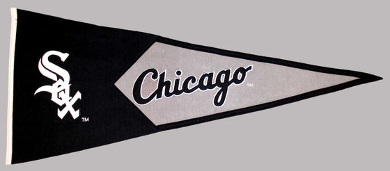 MLB, Chicago White Sox, Pennants - Horizontal, Embroidered Pennant, Officially licensed pennant, Chicago White Sox gift