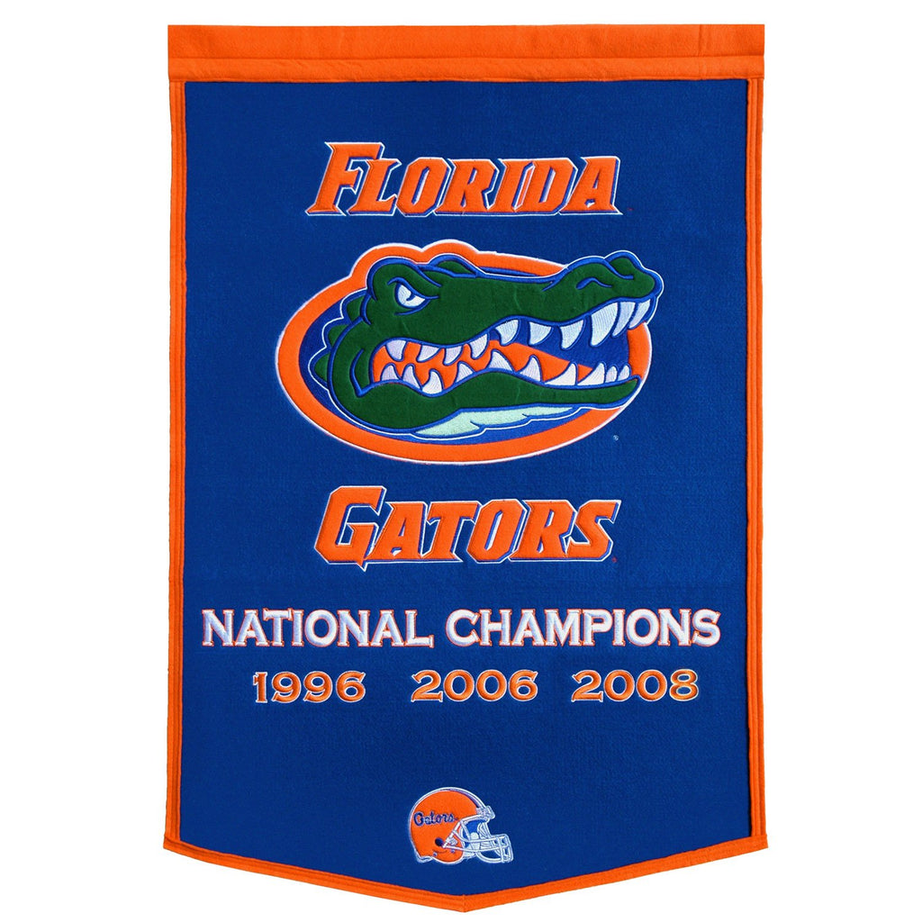 NCAA, Florida, Banners, Embroidered Banner, Officially licensed banner, Florida gift