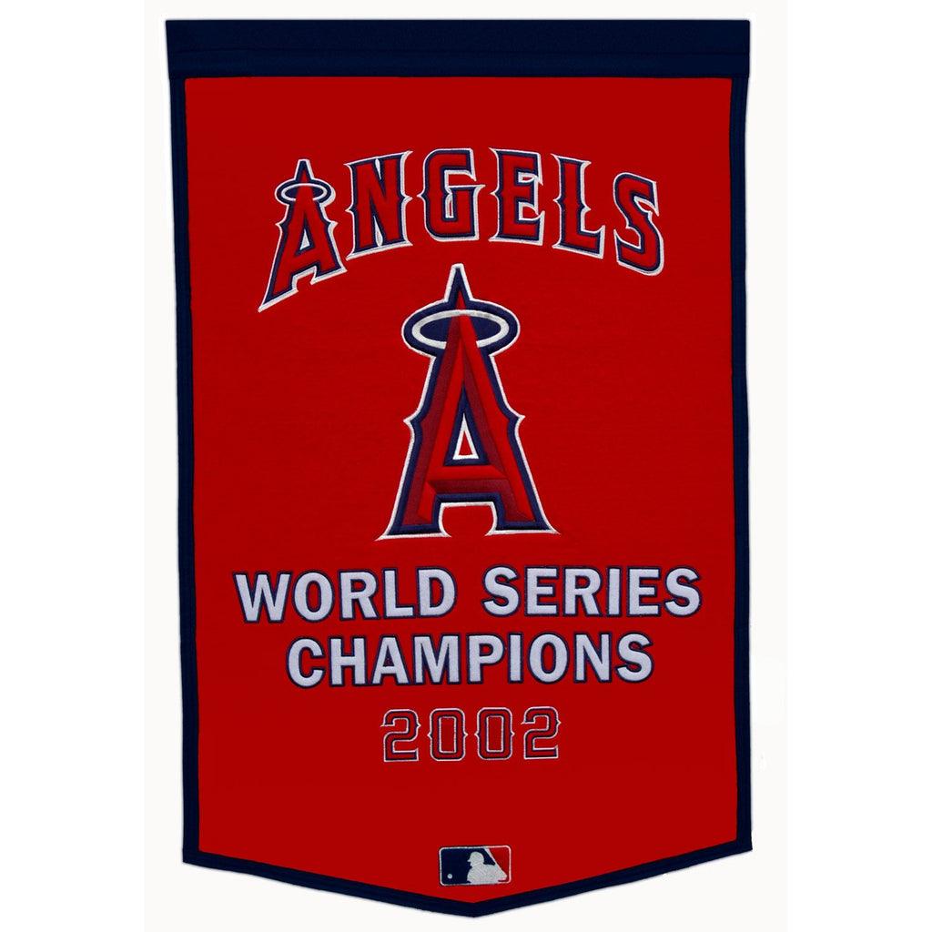 MLB, Los Angeles Angels of Anaheim, Banners, Embroidered Banner, Officially licensed banner, Los Angeles Angels of Anaheim gift