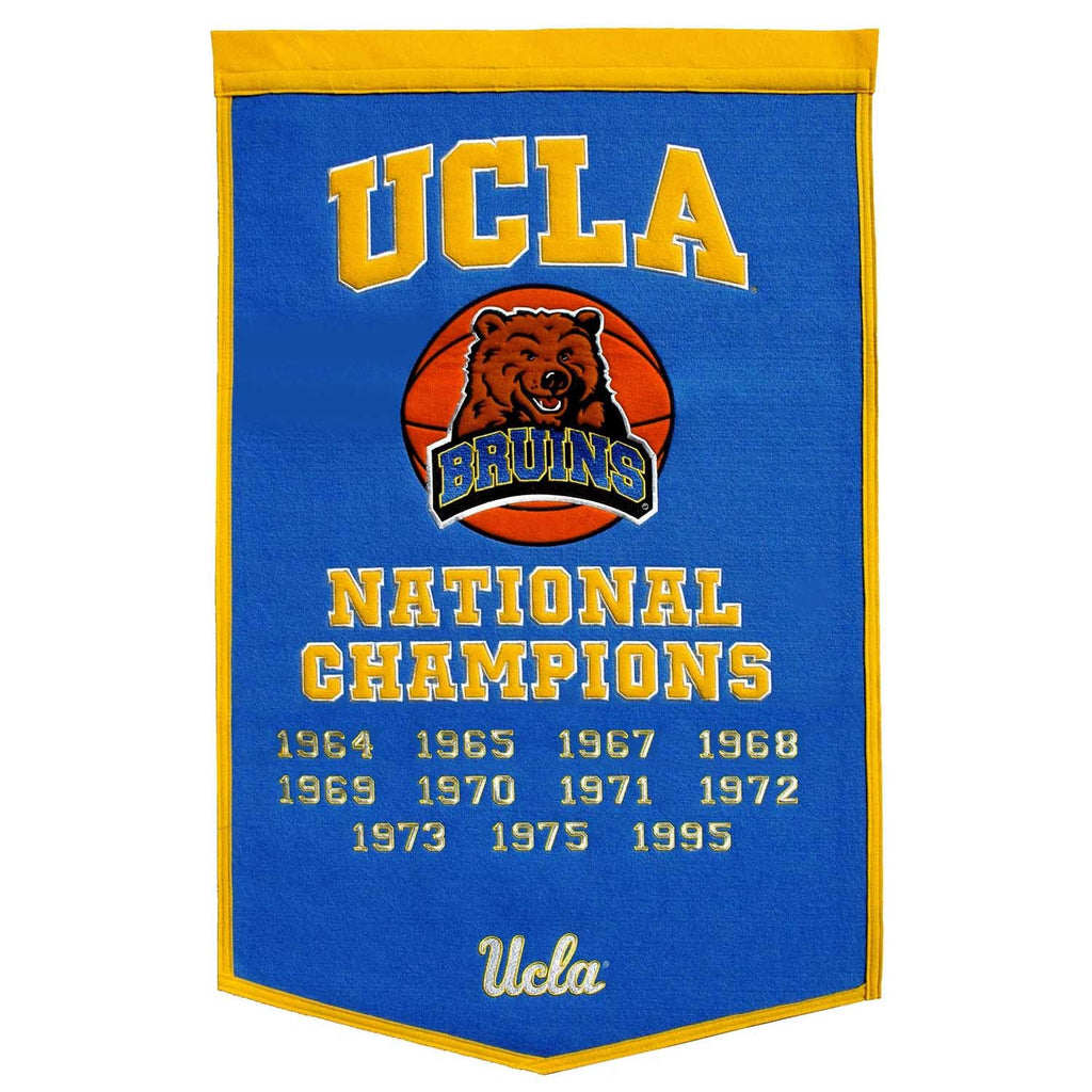 NCAA, UCLA, Banners, Embroidered Banner, Officially licensed banner, UCLA gift